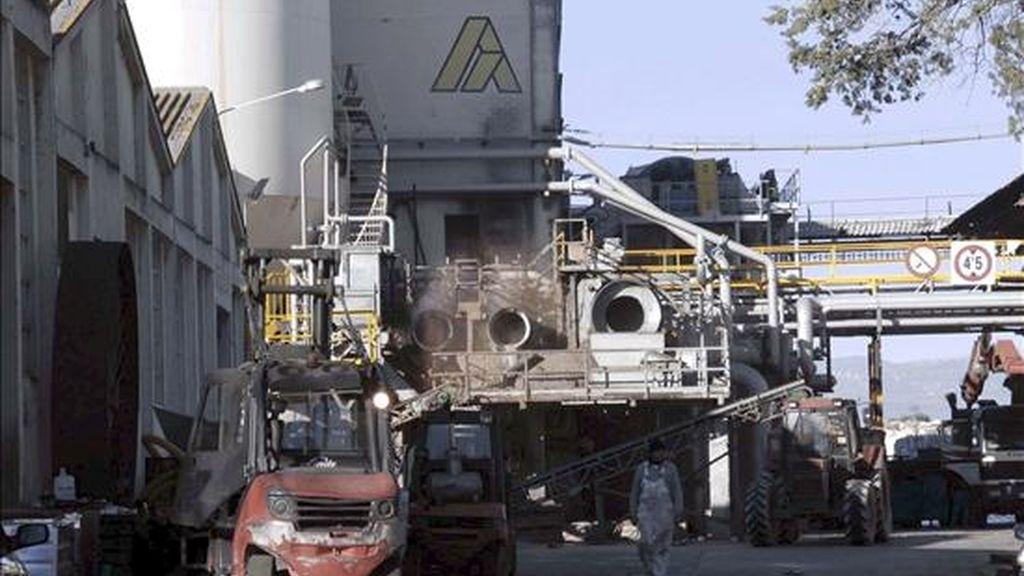 Imagen de la empresa papelera Alier S.A., afectada por un Expediente de Regulación de Empleo. EFE/Archivo