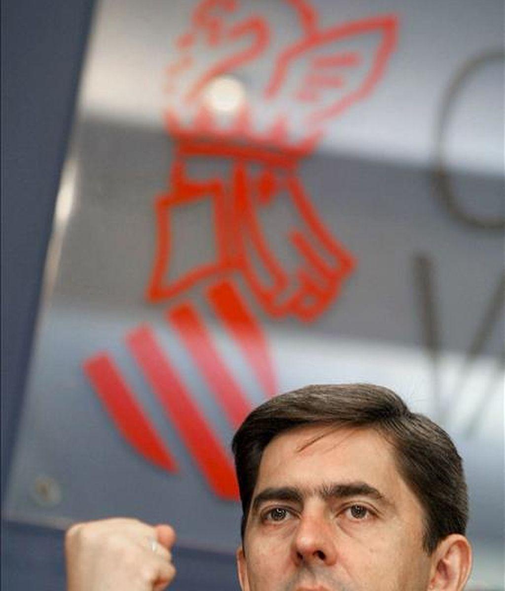 El vicepresidente primero del Gobierno valenciano, Vicente Rambla. EFE/Archivo