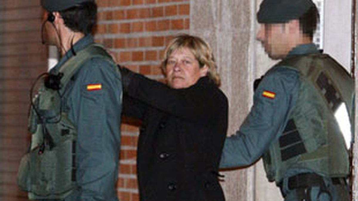 La abogada Arantza Zulueta, arrestada. Vídeo: Informativos Telecinco.