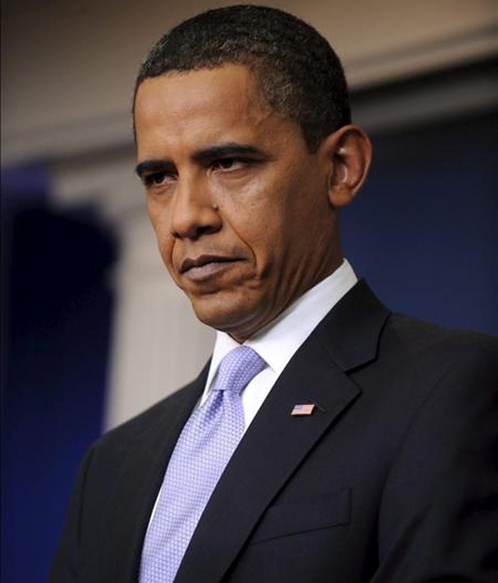 """El presidente de Estados Unidos, Barack Obama, se declaró """"escandalizado"""" por la represión contra los manifestantes en Irán y expresó su """"fuerte condena a estas acciones injustas"""". EFE"""