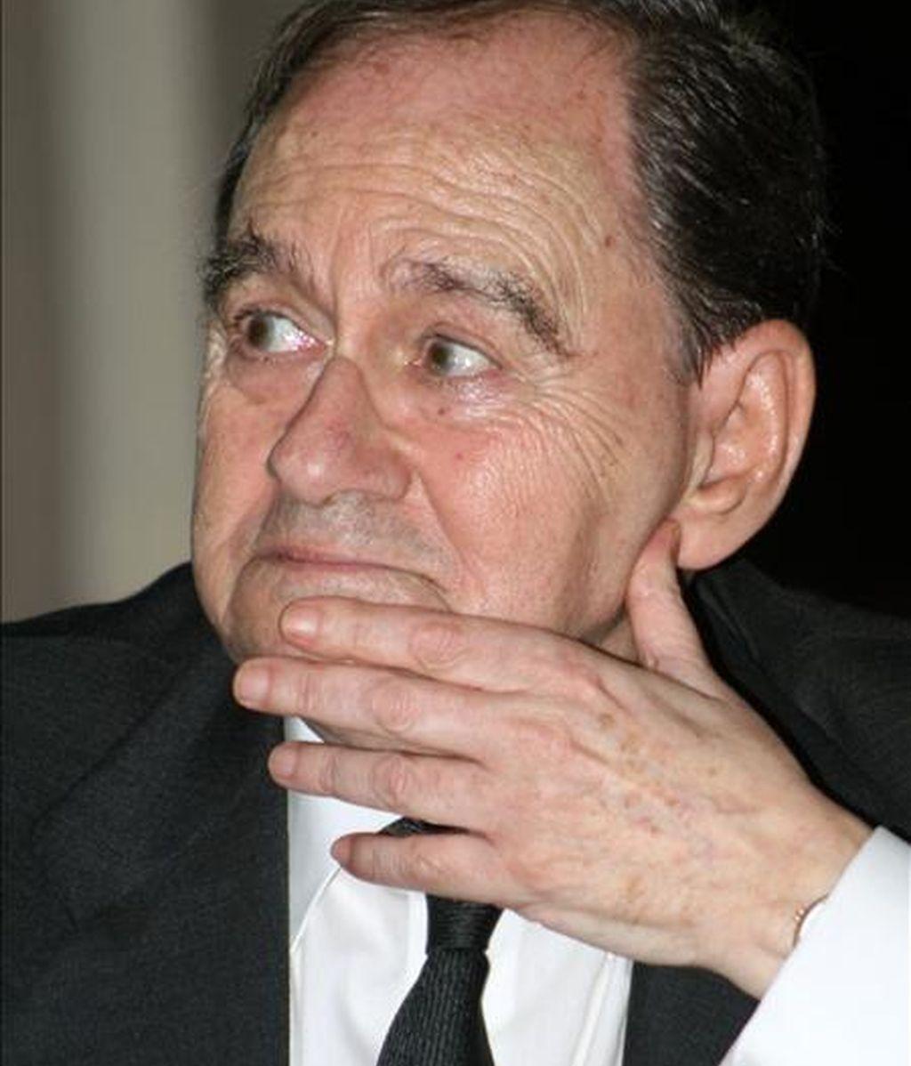 El Tribunal Supremo ha fallado en contra del ex director del teatro Español Gustavo Pérez Puig (en una imagen de archivo) en su pleito contra el socialista Rafael Simancas por intromisión en su honor, como ya lo hicieron en el año 2000 el Juzgado de Primera Instancia número 50 de Madrid y la Audiencia Provincial. EFE