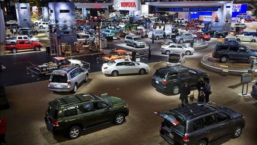 La muestra de Chicago es la mayor, en superficie, de los Estados Unidos, con 121.000 metros cuadrados de exhibición. Este año, la organización ha conseguido reunir más de 1.000 vehículos diferentes. EFE/Archivo