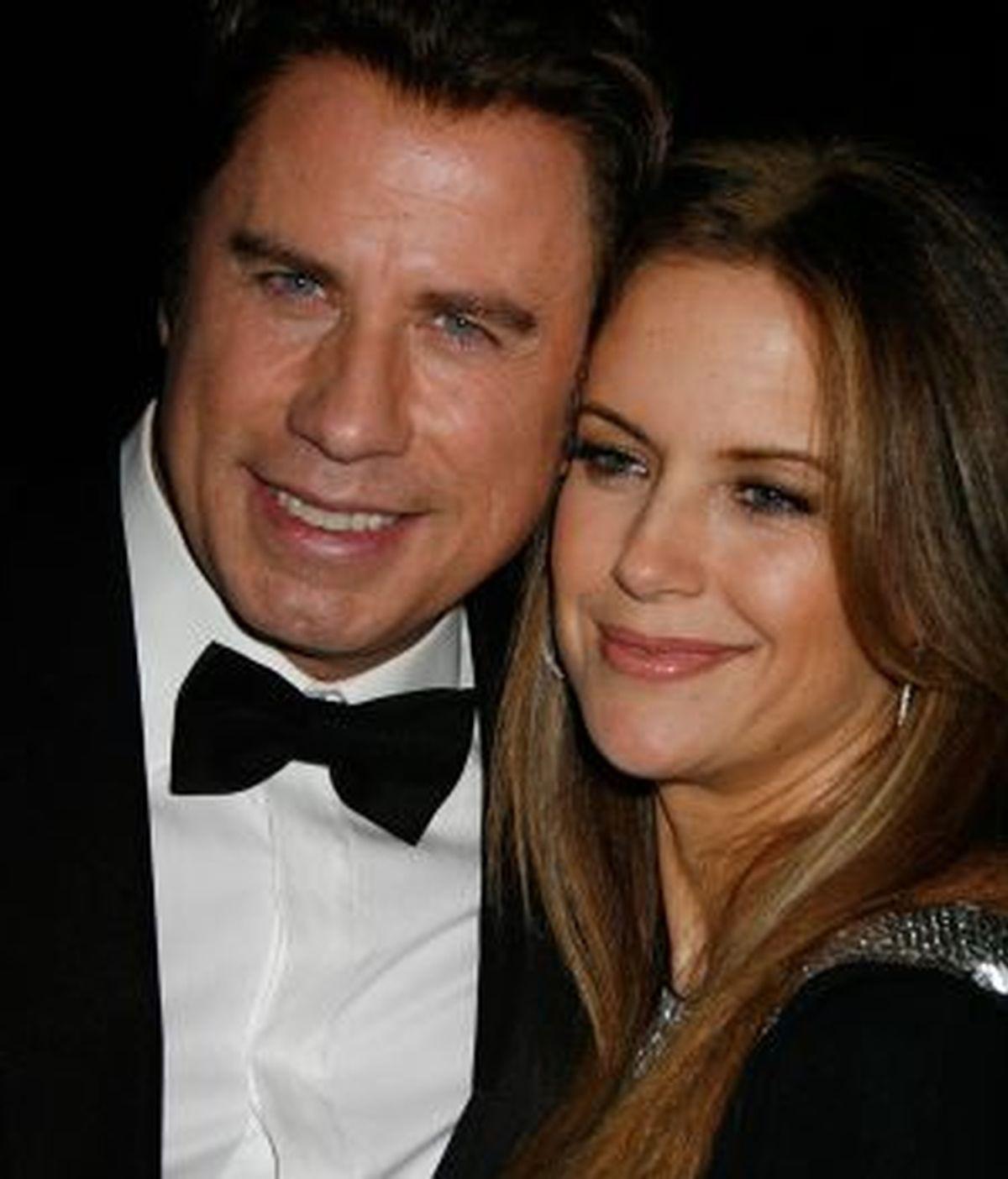 John Travolta y su mujer, Kelly Preston, durante el Festival de Cine de Santa Bárbara. Foto: Gtres.