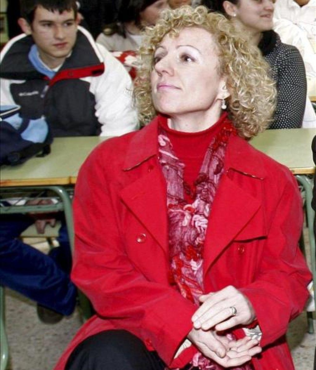 """La consejera de Educación, Rosa Eva Díaz Tezanos, ha afirmado hoy que el colegio Torrevelo, al que no se ha renovado el concierto educativo, podrá acogerse en caso de solicitarlo a una prórroga de un año prevista en la normativa, para que las familias puedan """"tener un periodo"""" para """"buscar una salida"""". EFE/Archivo"""