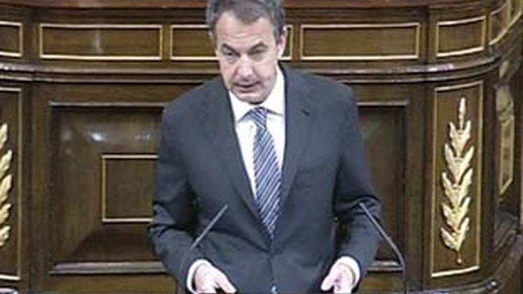 Zapatero afirma que el plan anticrisis está dando resultados. Vídeo: Atlas