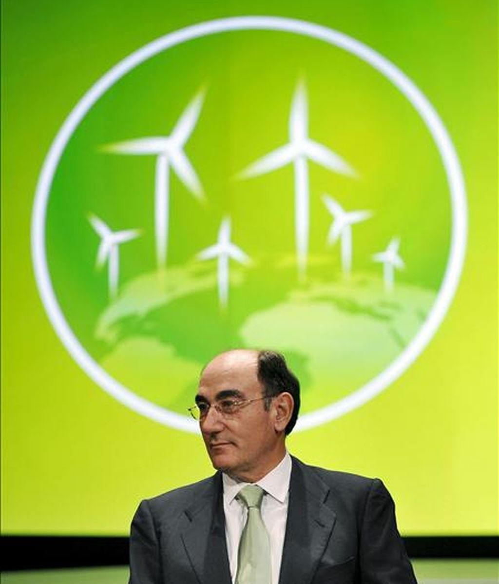 El presidente de Iberdrola Renovables, Ignacio Sánchez Galán. EFE/Archivo