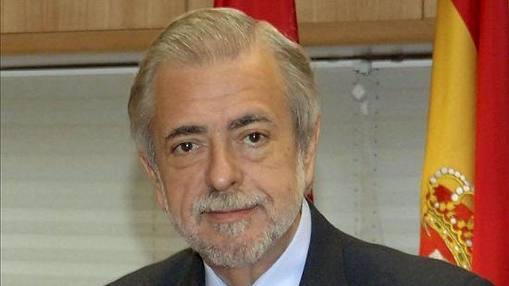 El consejero de Economía y Hacienda de Madrid, Antonio Beteta. EFE/Archivo
