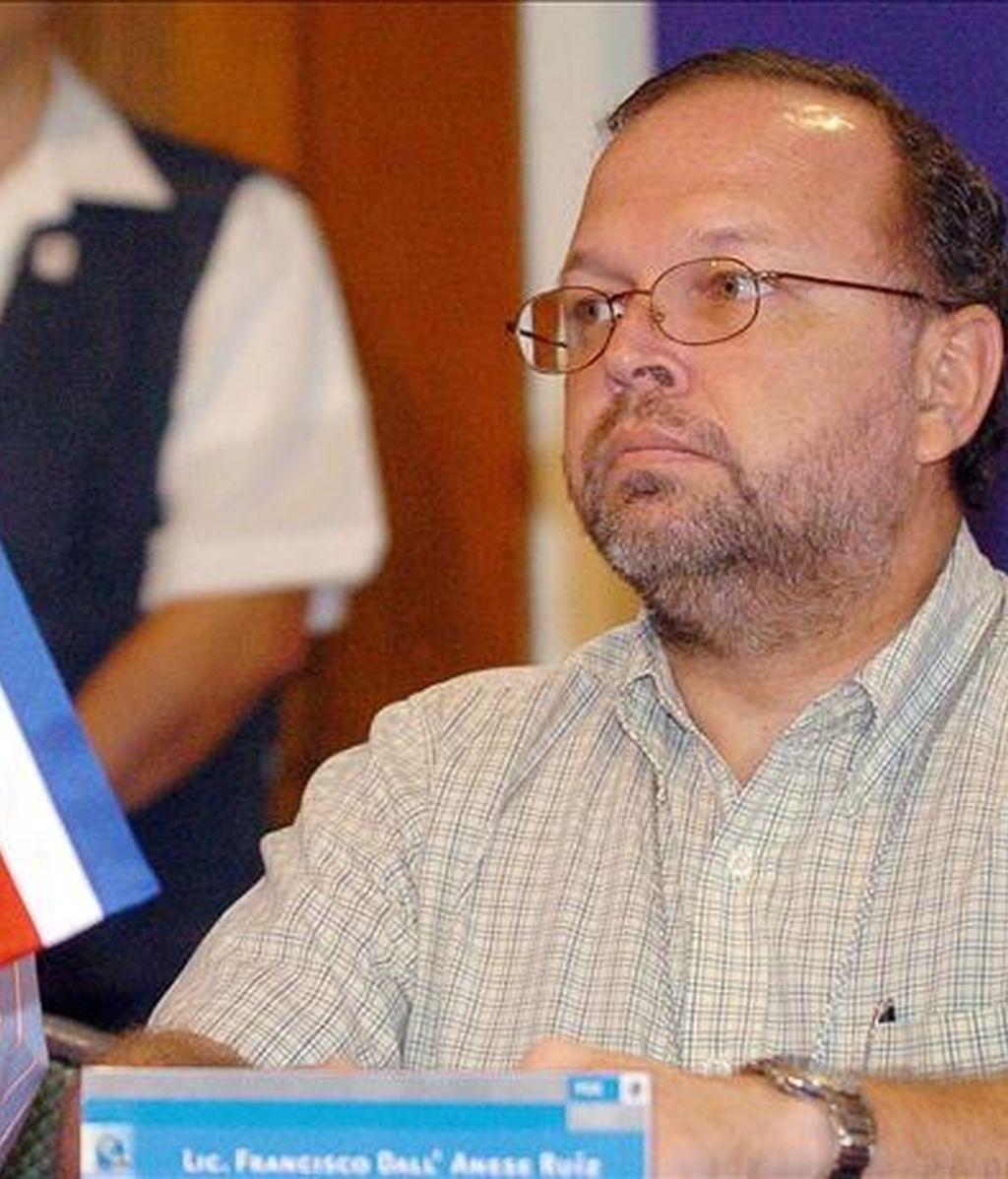"""El jefe de la Cicig, el fiscal costarricense Francisco Dall'Anese, dijo aque la demanda fue presentada el pasado jueves a petición de esa comisión por el jefe de la Fiscalía de la Audiencia Nacional de España, la cual """"ha sido ya aceptada para su trámite"""", añadió. EFE/Archivo"""