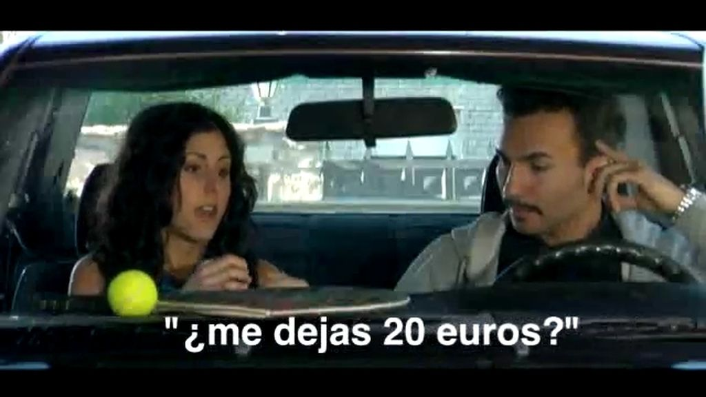 El profe de tenis 1x04: '¿Me dejas 20 euros?'