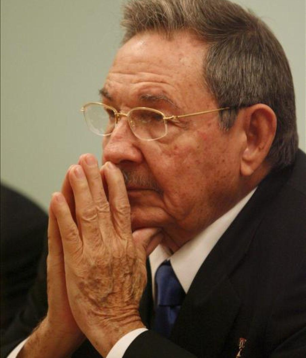 El presidente cubano, Raúl Castro. EFE/Archivo