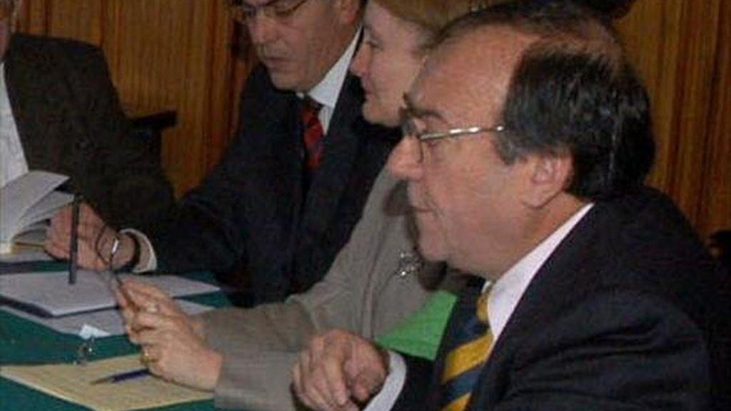 José Pinelo, que reemplaza a Reynaldo Cuadros Anaya al frente de esta legación en Washington, juró como embajador ante la OEA el pasado sábado en un acto presidido por el canciller boliviano, David Choquehuanca. EFE/Archivo