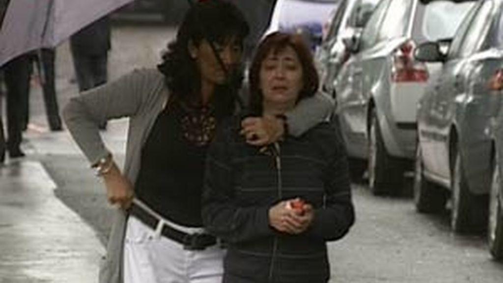 La mujer de Eduardo Puelles intuyó que la explosión había sido en el coche de su marido. Video: Informativos Telecinco