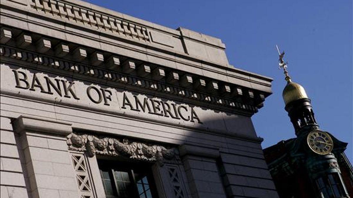 """""""No tenemos pruebas que respalden la afirmación del fundador de Wikileaks en octubre de 2009 de que tenía un disco duro de cinco gigas de un directivo de Bank of America"""", aseguró la entidad en un comunicado. EFE/Archivo"""
