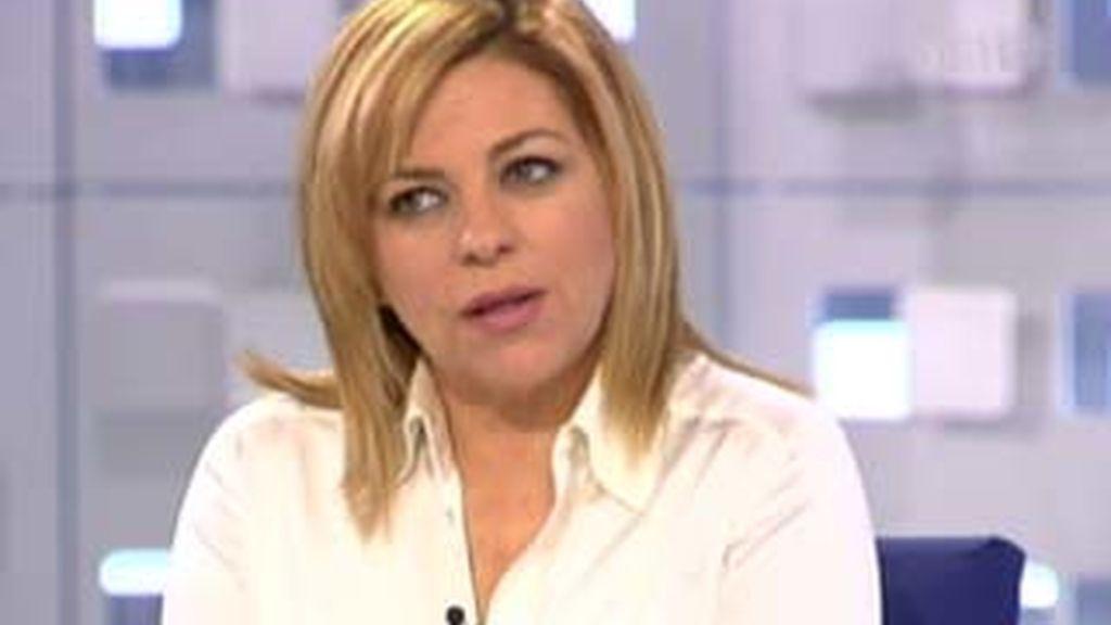 Elena Valenciano, secretaria de política internacinal del PSOE, en La Mirada Crítica