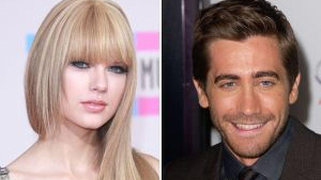 Taylor Swift y Jake Gyllenhaal. Foto: Gtres.