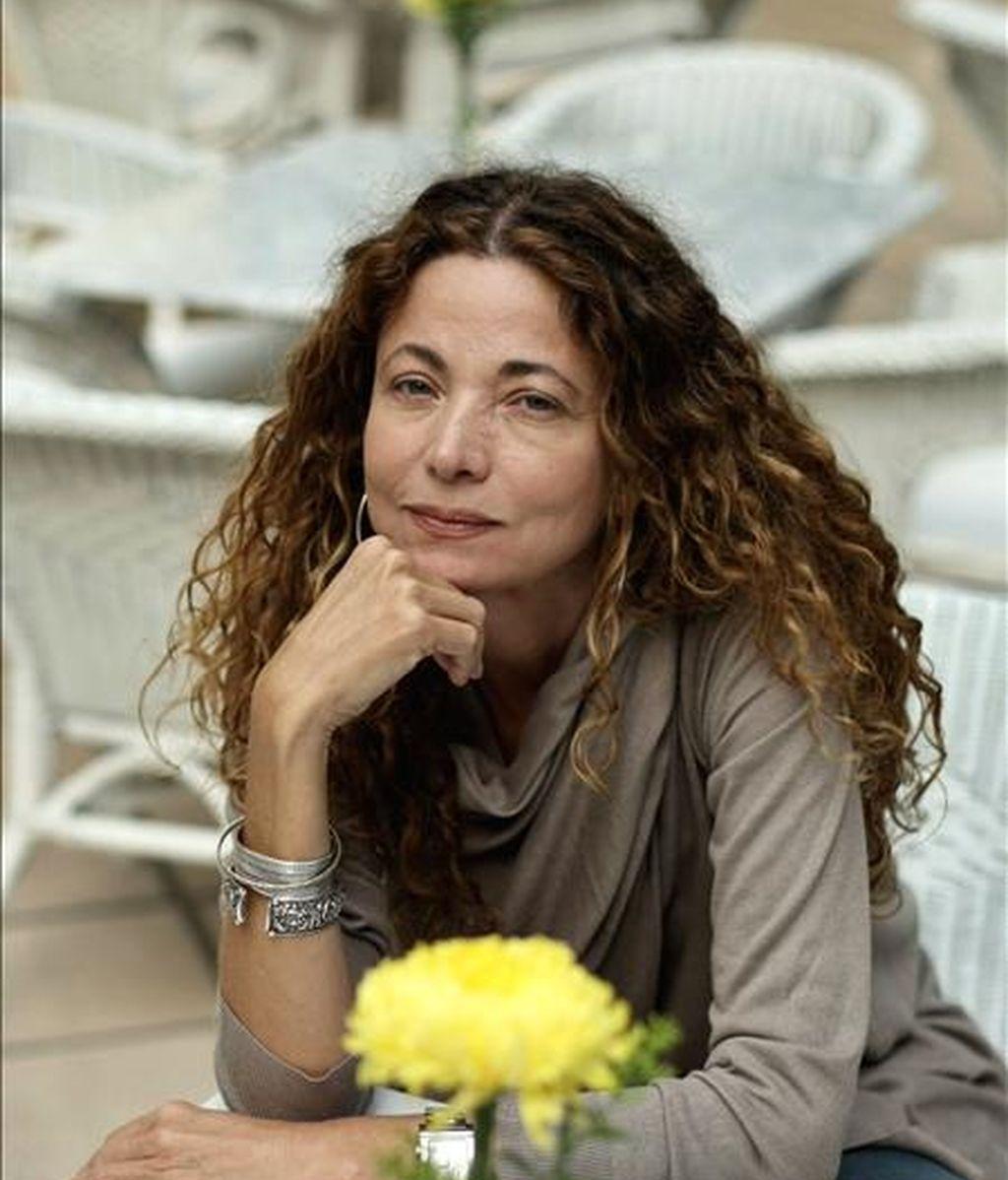 """La escritora colombiana, Ángela Becerra, se encuentra en Argentina para presentar su libro """"Ella, que todo lo tuvo"""", novela galardonada con el III Premio Iberoamericano Planeta-Casa de América de Narrativa. EFE"""