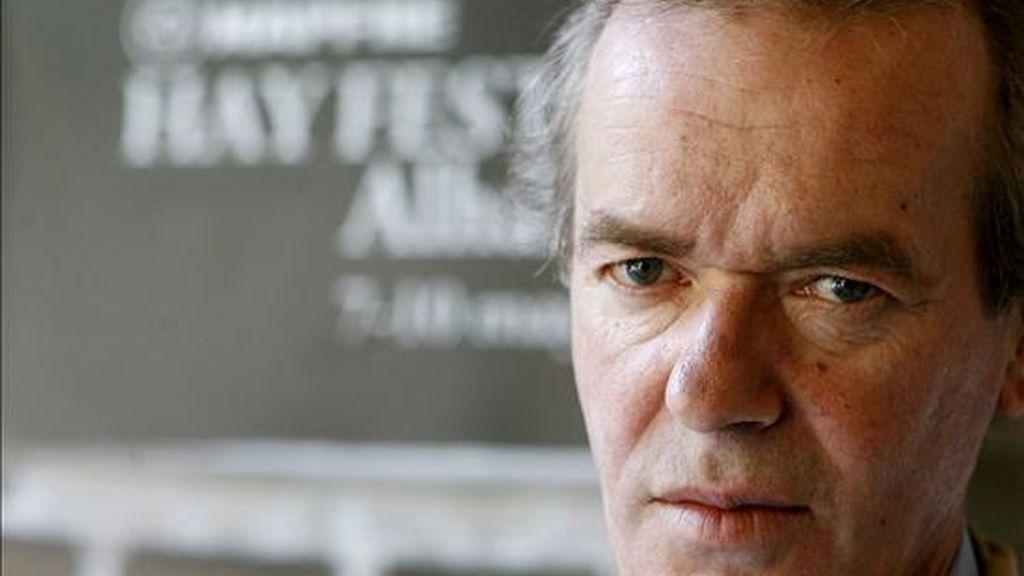 El escritor británico Martin Amis. EFE/Archivo