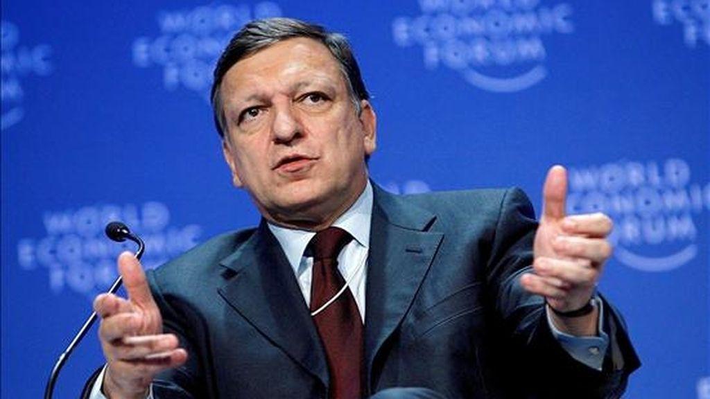 El presidente de la Comisión Europea, José Manuel Durao Barroso. EFE/Archivo
