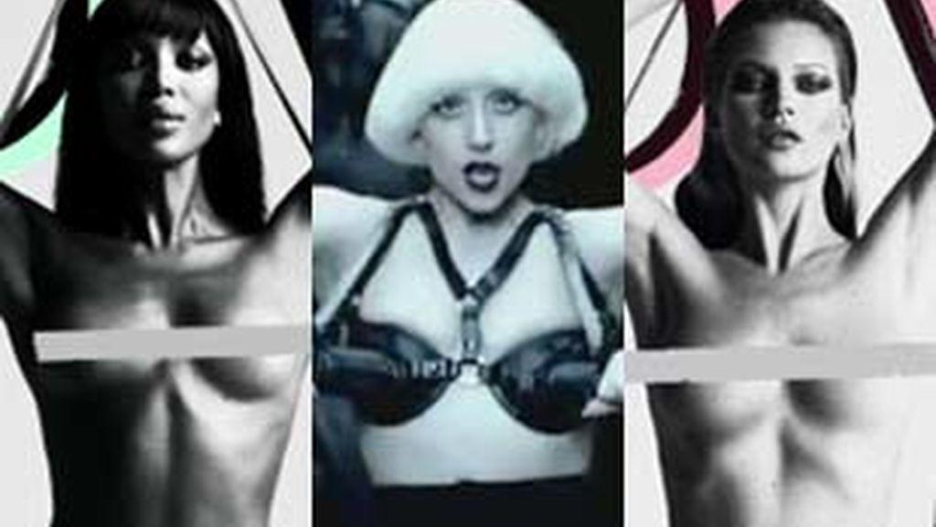 Naomi Campbell y Kate Moss se niegan a compartir portada con Lady Gaga.