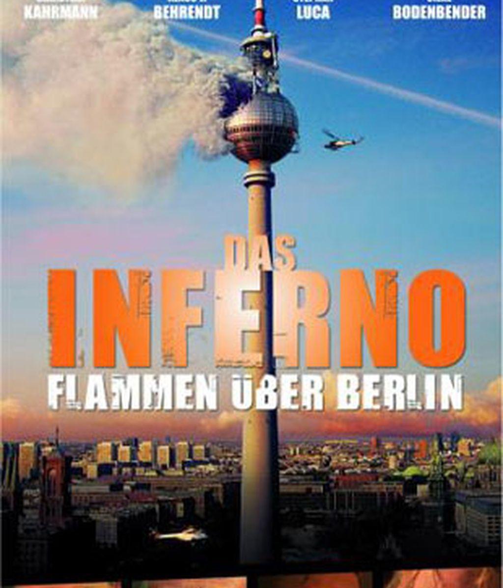 Cartel original de la película 'Infierno en Berlín'.