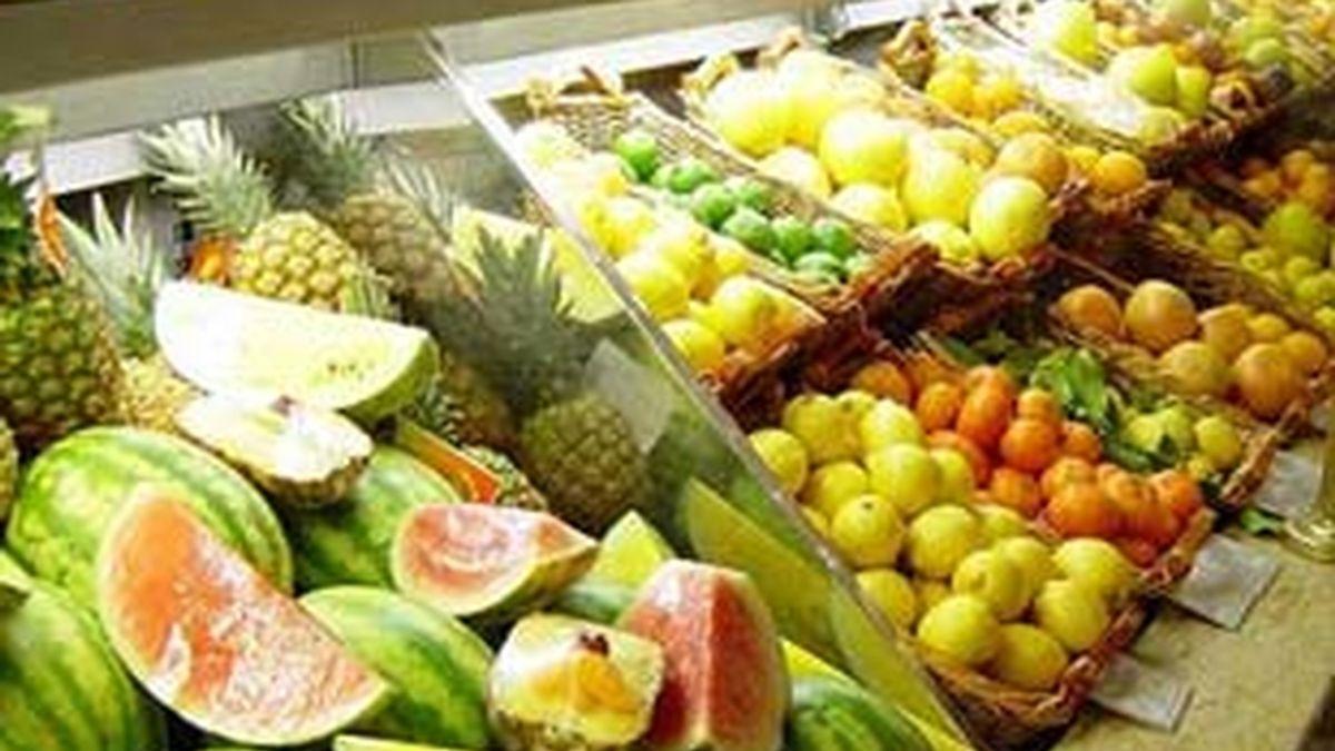 La bajada del precio de los alimentos es una de las causas de la bajada del IPC. Video:ATLAS