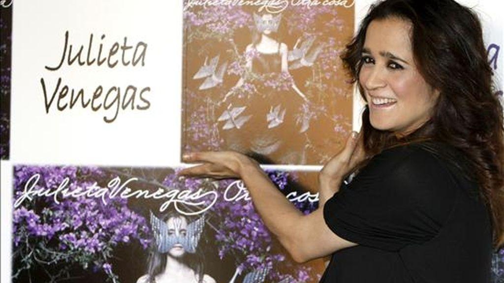 """En 2009, Venegas decidió alejarse de los viajes de conciertos porque """"la agitación de las giras no es algo que me inspire para hacer canciones"""", apuntó. EFE/Archivo"""