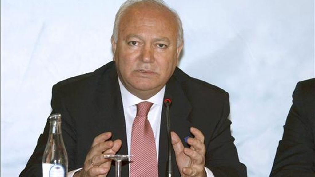 En la imagen, el ministro de Asuntos Exteriores de España, Miguel Ángel Moratinos. EFE/Archivo