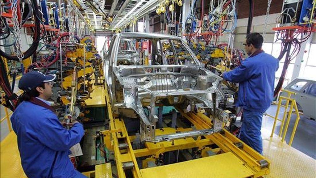La intención, según fuentes de la empresa, es aumentar un 50 por ciento la producción, para llevarla hasta unos 250.000 vehículos anuales. EFE/Archivo