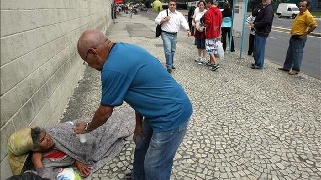 De acuerdo con Instituto Brasileño de Geografía y Estadísticas, 14,3 millones (7,4% de la población) estaba el año pasado en una situación de inseguridad alimenticia moderada y 11,2 millones (5,8%) en una situación de inseguridad alimenticia grave. EFE/Archivo