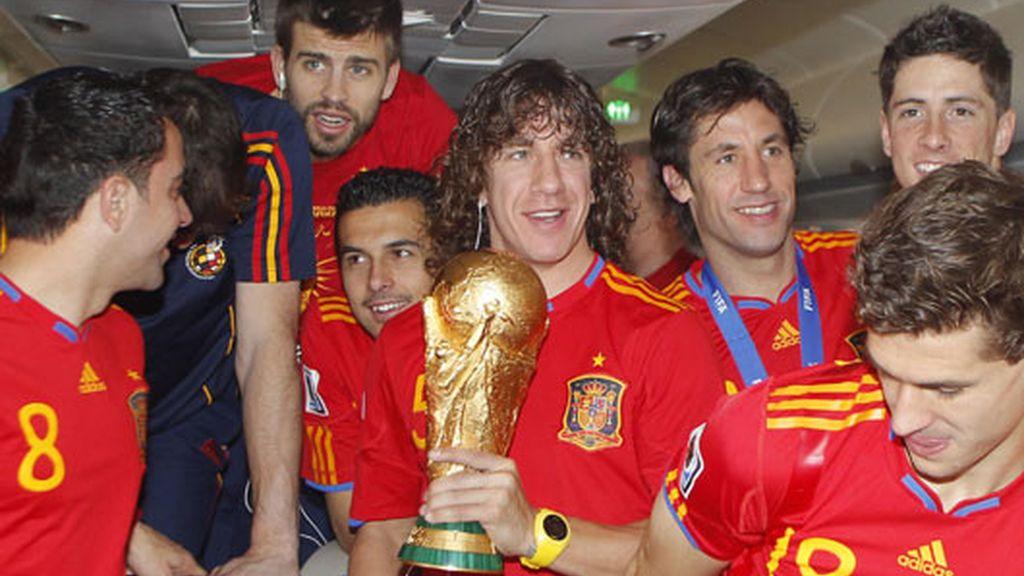 Puyol abandona la selección española como Campeón del mundo