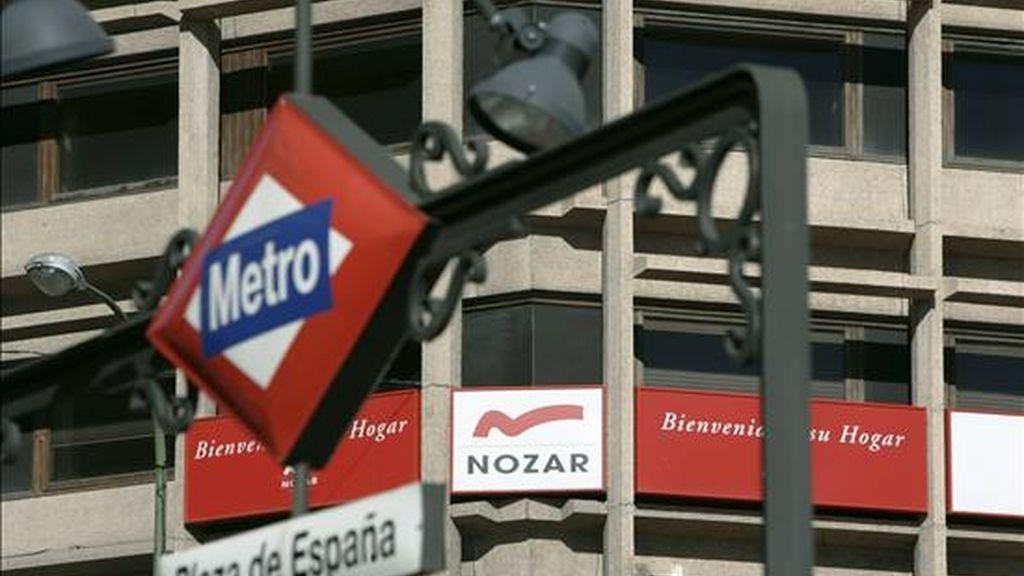 La inmobiliaria Nozar cuenta con activos valorados en cerca de 1.000 millones de euros, lo que le permite pagar el 62,5% de sus deudas, que ascienden aproximadamente a 1.600 millones de euros. EFE/Archivo