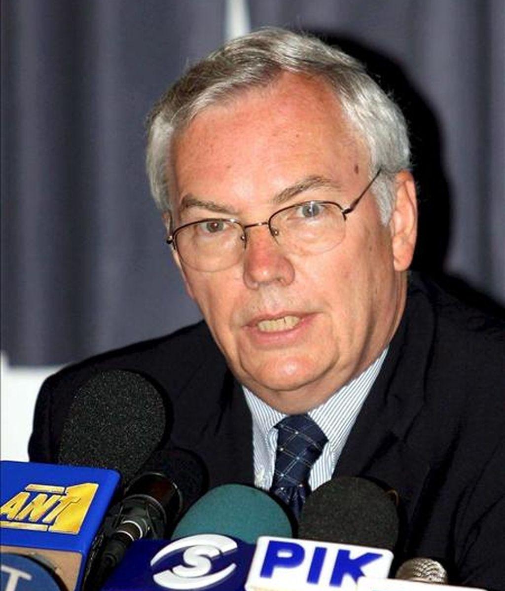 El subsecretario general de Naciones Unidas para Asuntos Políticos, Lynn Pascoe. EFE/Archivo