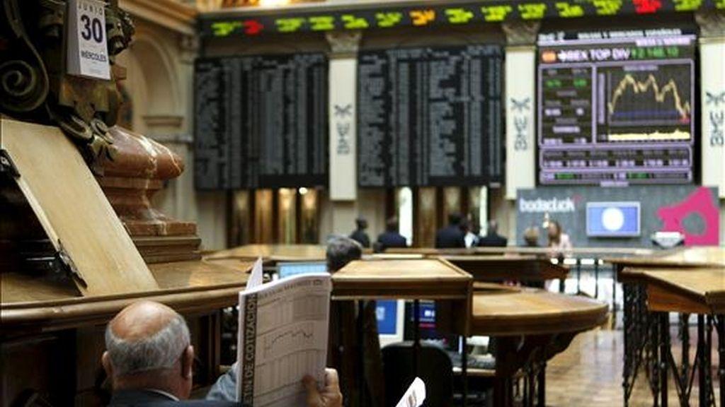 Imagen de la Bolsa de Madrid. EFE/Archivo