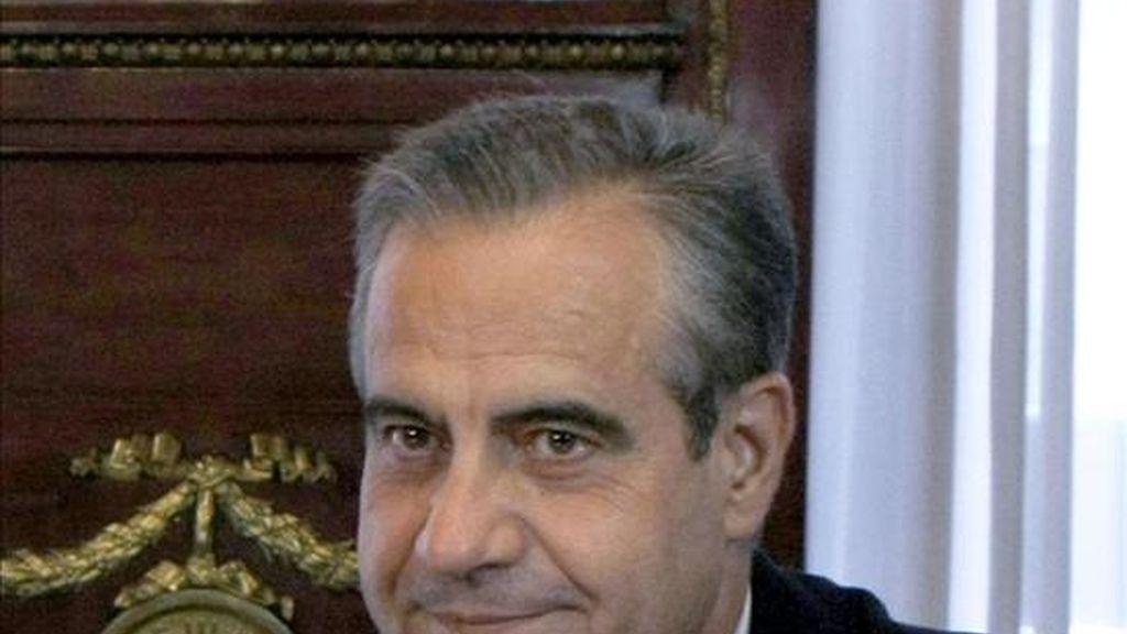 El ministro de Trabajo e Inmigración, Celestino Corbacho. EFE
