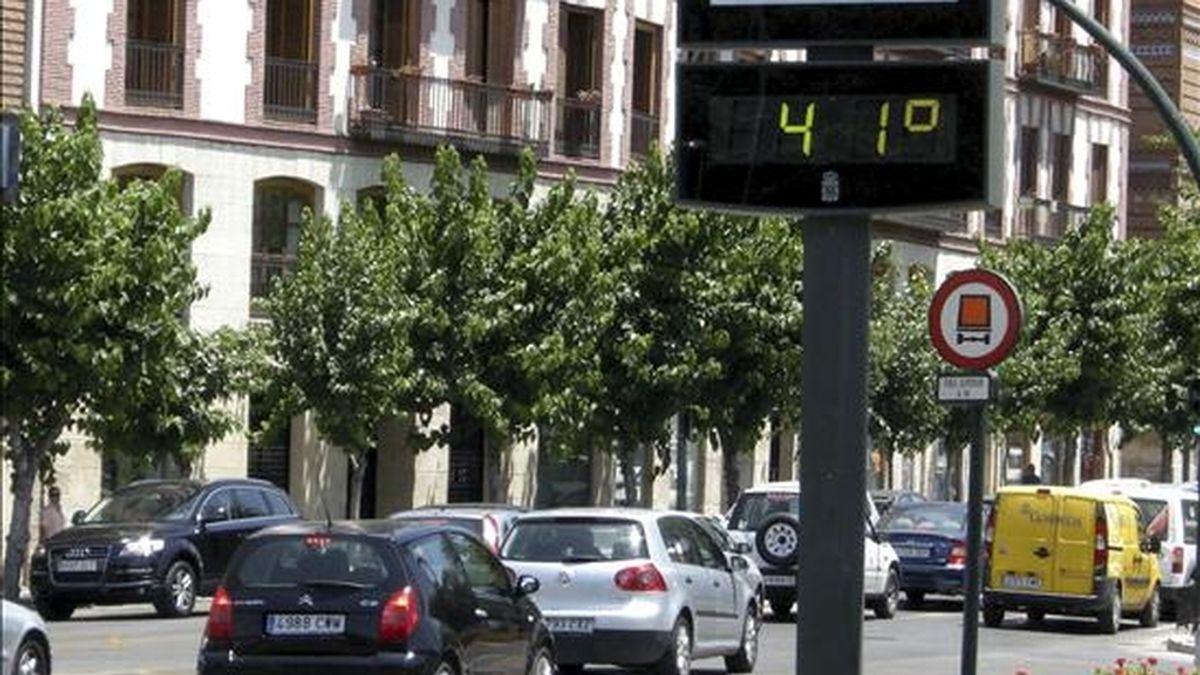 En Sevilla se han alcanzado los 43º. Video: ATLAS.