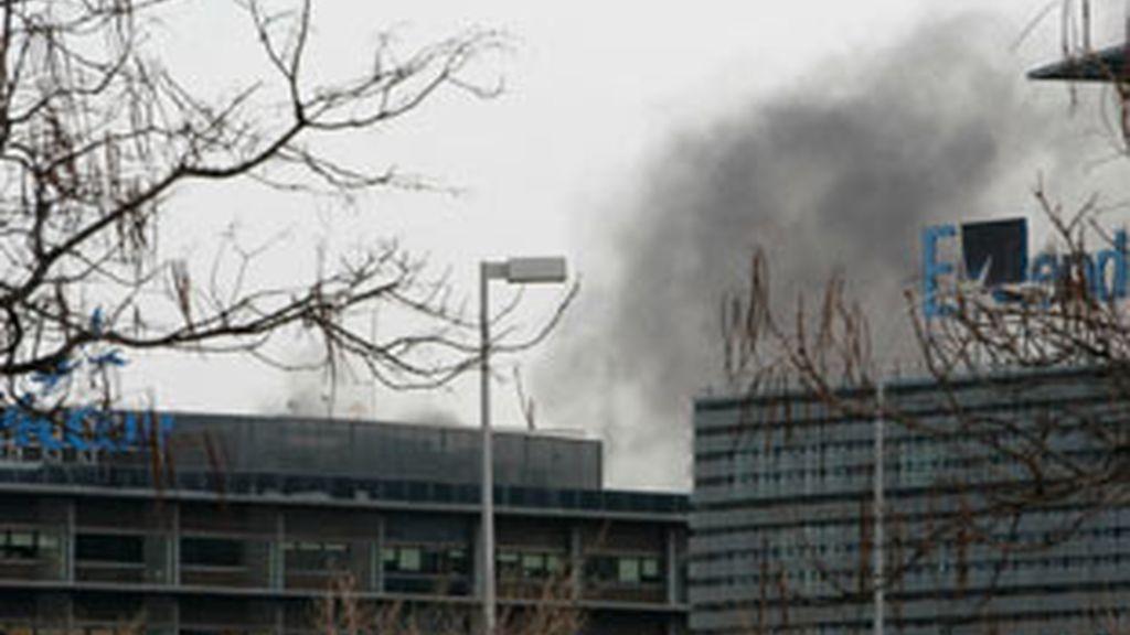 ETA atenta contra Ferrovial en Madrid. Vídeo:Informativos Telecinco