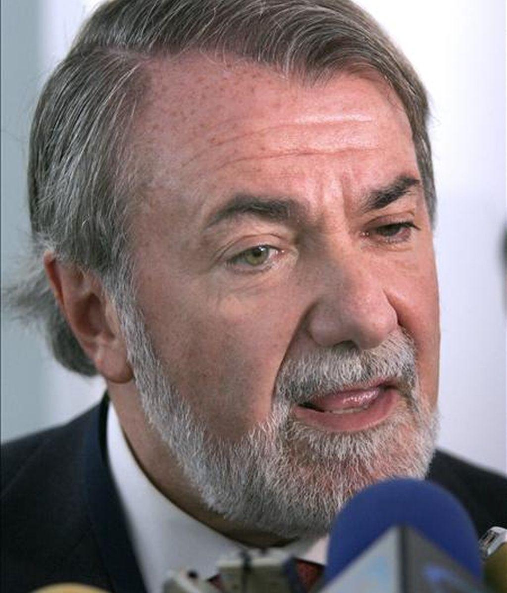 El candidato del partido en las próximas elecciones europeas, Jaime Mayor Oreja. EFE/Archivo