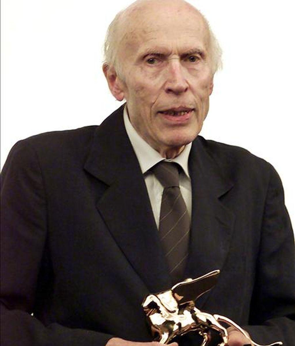 El director de cine francés Eric Rohmer. EFE/Archivo