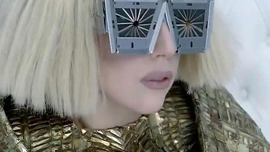 Imagen de Lady Gaga en 'Bad Romance', el videoclip más visto de toda la historia de YouTube.