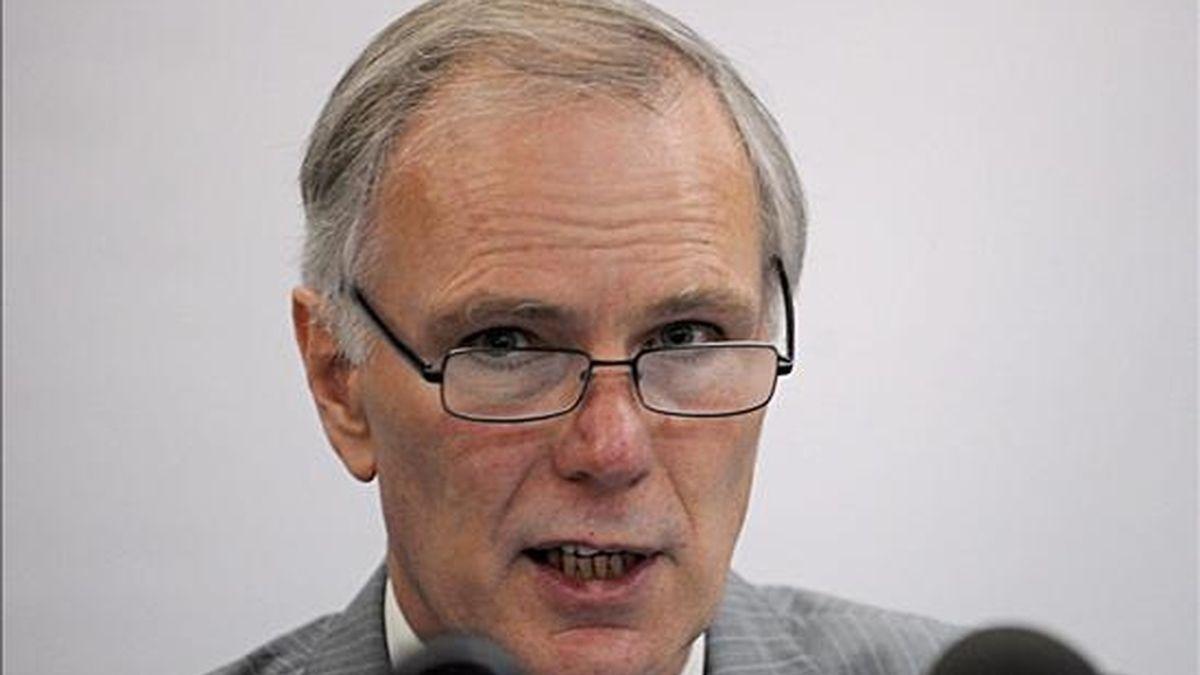 """""""Iré más allá y me ocuparé de todas las ejecuciones de la Policía, de las Fuerza Armadas, y también ejecuciones cometidas por otros grupos de la sociedad que han quedado impunes"""", dijo el relator de la ONU Philip Alston. EFE/Archivo"""