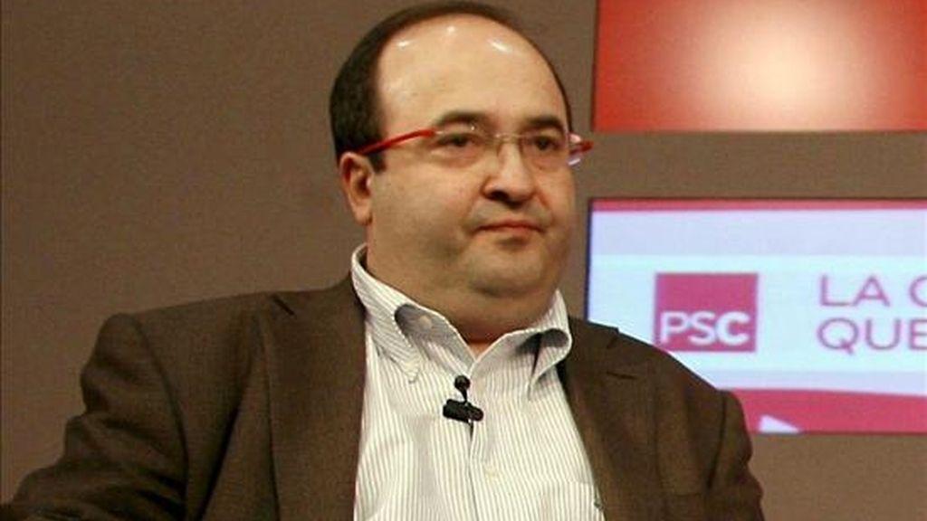 El portavoz del PSC, Miquel Iceta. EFE/Archivo