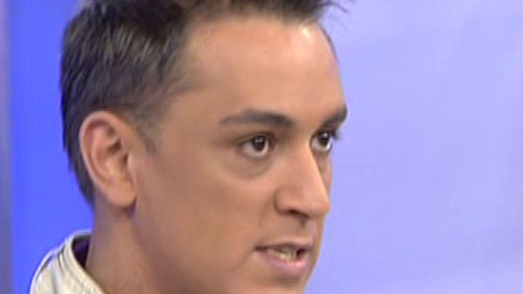 """Kiko Hernández: """"No soy Popi, quiero seguir en Eurovisión"""""""