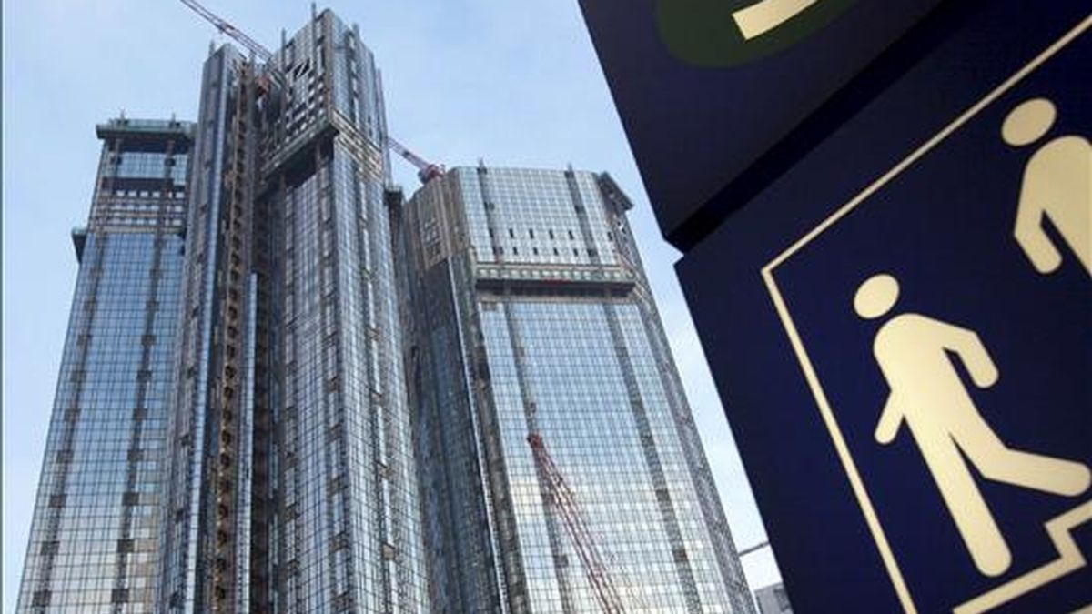 Imagen de la sede del banco alemán Deutsche Bank, en Frankfurt Main, Alemania. EFE/Archivo
