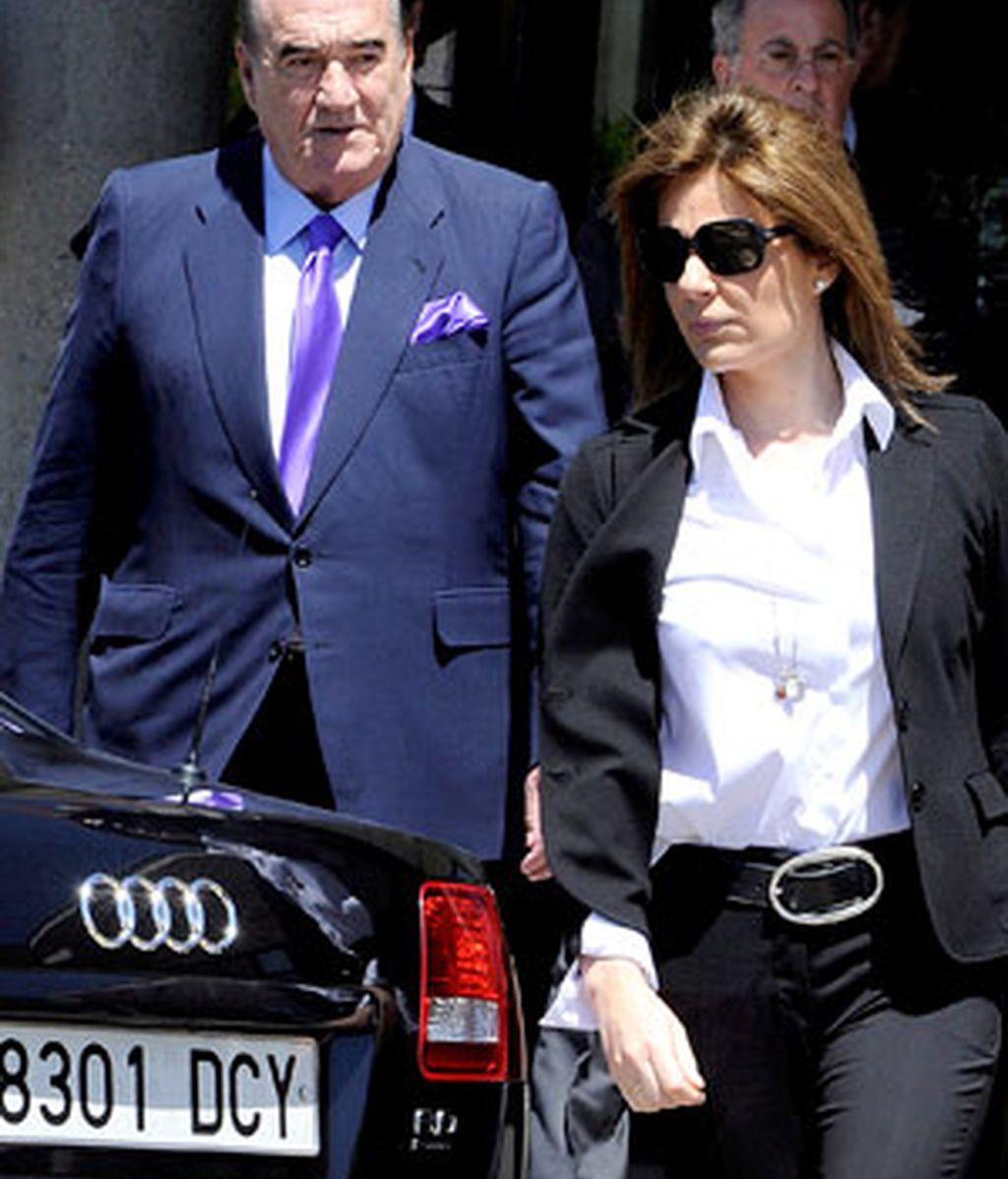 Nuria González y Fernando Fernández Tapia, en foto de Archivo. Foto: Gtres.