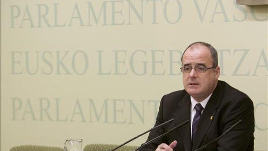 El parlamentario del PNV Joseba Egibar. EFE/Archivo