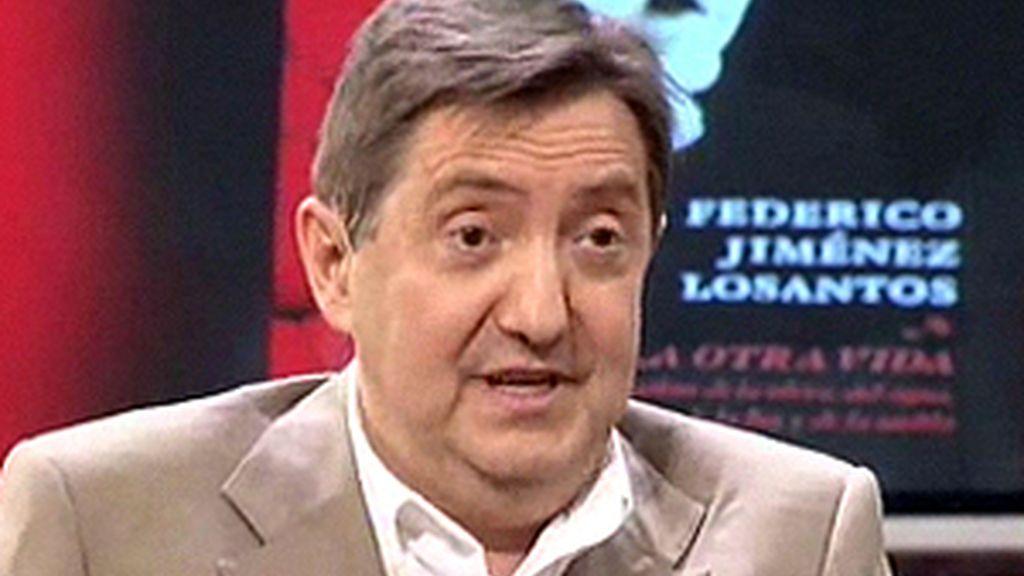 Jiménez Losantos se encargará a partir de las siete de la mañana del programa matinal de 'esRadio'. Foto: Informativos Telecinco.
