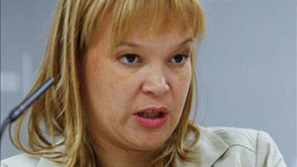 La Ministra de Sanidad, Leire Pajín.