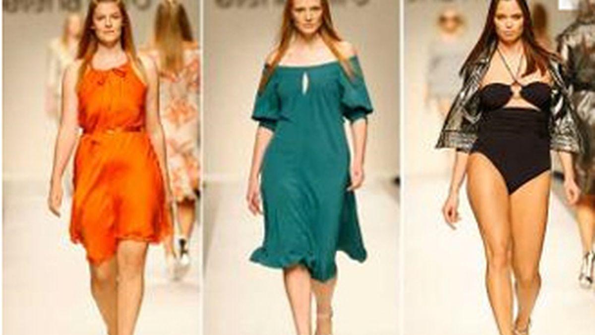 La casa de moda Mirò, que viste a las mujeres a partir de la talla 44, estaba presente en la semana oficial de Milán desde 2005. Foto archivo