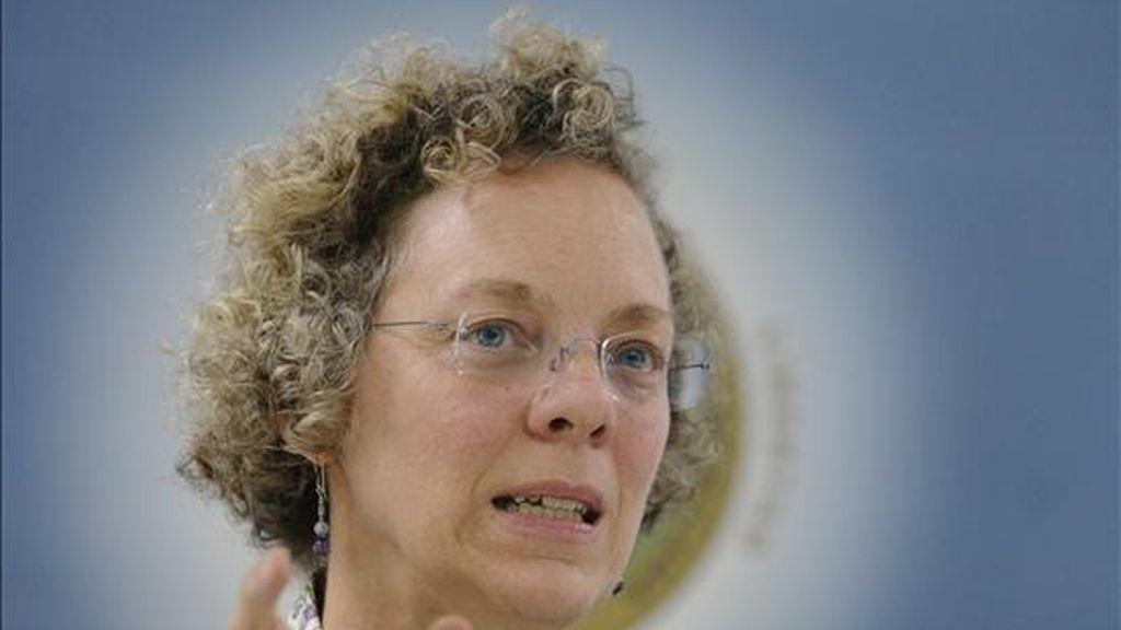 """La experta de cambio climático de la CEPAL, Julie Lennox, explicó que se ha estimado en """"10.000 millones de dólares a precios de 2002"""" el impacto de este fenómeno en el sector agrícola y por el aumento en la intensidad de huracanes, tormentas e inundaciones. EFE"""