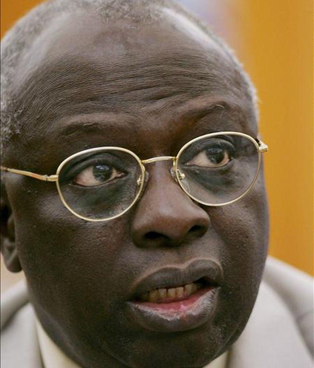 El director de la Organización de las Naciones Unidas para la Agricultura y la Alimentación , Jacques Diouf. EFE/Archivo